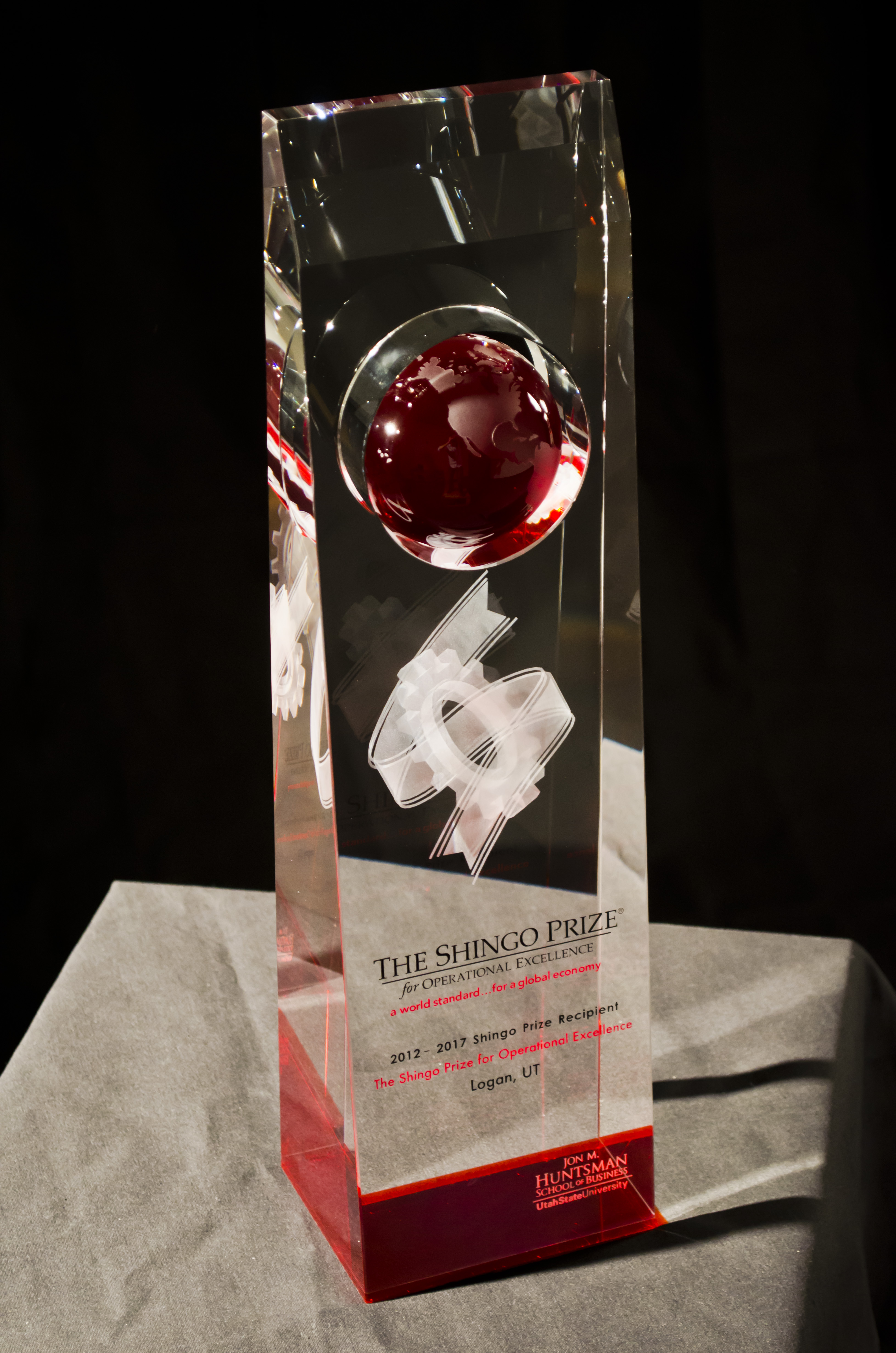 shingo prize award We were excited to receive the world's top manufacturing award, the shingo  prize as an industry-leading industrial diamond manufacturer, we.